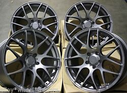 18 Gm Ms007 Alloy Wheels + Tyres Fits Lexus Gs Is Ls Rc Rx Models Mazda 5 6