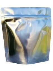Sold Out -packfreshusa 50 Pack 7 Mil Quart Seal-top Stand Up Mylar Pouch Bag