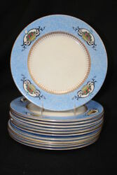 12 Soho Pottery Solian Staffordshire Fruit Basket 11 Chargers/dinner Plates