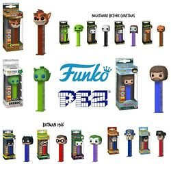 Funko Pop Pez Dispensers ❤️ Limited Edition ❤️ Collectible Popshield Option