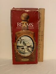 Vintage Jim Beam Collectible Whiskey Decanter James Lockhart The Canvasback