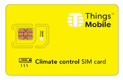 SIM Card Things Mobile for CLIMATE CONTROL with of credit included