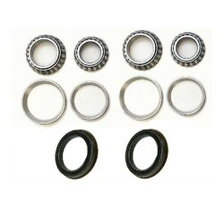 Front Wheel Bearing And Race And Seals Fit 1998-2007 Lexus Lx470 2wd 4wd