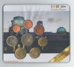 Germany Euro Set Of 8 Coins 2003 D100 Years German Museum Blister Rare M0134