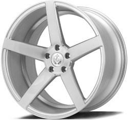 20 Silver Axe Ex18 Alloy Wheels Fits Bmw 1 + 2 Series F20 F21 F22 F23 Coupe M14