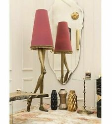 Designer Floor Lamp Marilyn  Monroe Pink Shade H: 708'' Bessa Made in Portugal
