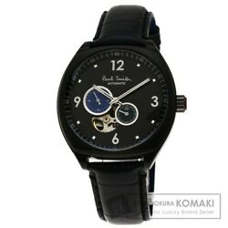 Paul Smith masterpiece limited edition SS  leather men's automatic  [a0203]