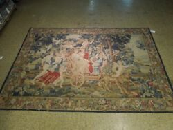 Wall Art Carpet 6and039 X 9and039 Eden Pictorial Tapestry Handmade Rug