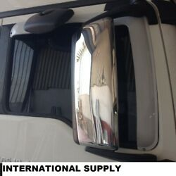 Man Tgx / Tgs Chrome Mirror Covers 2 Pcs And039and039super Polishedand039and039. Stainless Steel