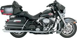 Vance And Hines Dresser Duals Chrome Headers/headpipes For 1995-2008 Touring 16799