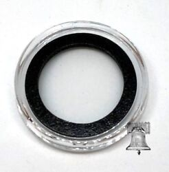 25 Air-tite Coin Holder Capsule Model A Black 18mm Three Cent Nickel Storage