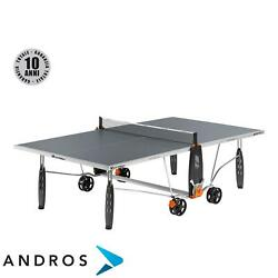 CORNILLEAU SPORT 150S CROSSOVER OUTDOOR - Tennis table Grey