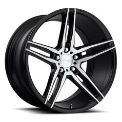 4rims 20 Staggered Niche M169 Turin Brushed Black Wheels And Tires