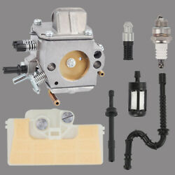 Carb Fit Stihl 029 Ms290 039 Ms390 Chainsaw 1127 120 0650 W/ Fuel Line