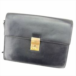 Gucci Clutch bag Black Woman unisex Authentic Used T6896