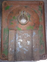 Vintage Buffalo Forge No. 15 Drill Press Part. Base Plate. Cast Iron.