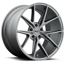 Qty4 20 Niche M116 Misano Anthracite Wheels And Tires