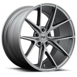 Qty4 20 Staggered Niche M116 Misano Anthracite Wheels And Tires