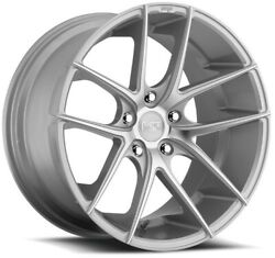 4/set 19 Staggered Niche M131 Targa Silver Machined Wheels And Tires