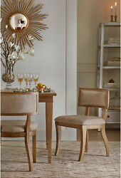 Madison Park Signature Marie Beige Light Natural Dining Chair (Set Of 2) - X X