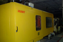 (2) Husky 660 Ton 2-Shot Two-Color Injection Molding Machines