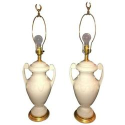 Pair Of Lenox Neoclassical Style Table Lamps By Frederick Cooper 101-2652