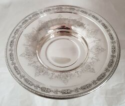 An American Sterling Silver Fruit Dish / Compotier. By Towle Silversmiths. C1890