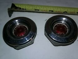 1968 Dodge Dart And Charger Rear Side Marker Lights With Body Line Edge 68
