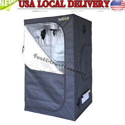 Hydroponic Grow Tent for Indoor Plant Growing Removable Mylar 48 x 48 x 80 Inch