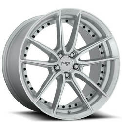 4/set 19 Niche M221 Dfs Silver Machined Wheels And Tires