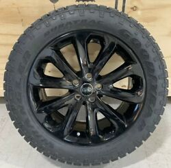 Genuine Land Rover Range Rover L405 20 Alloy Wheels And Good Year Duratrac Tyres