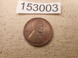 1909 Lincoln Wheat Cent Nice Collector Higher Grade Album Raw Coin - 153003