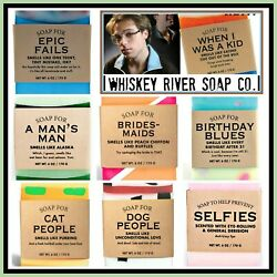 Whiskey River Soap Company Unique Gift Funny Made In Usa Buy 1 Get 1 10 Off