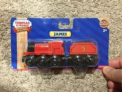 Fisher-price Thomas And Friends Wooden Railway, James Engine Y4070 New Unopened