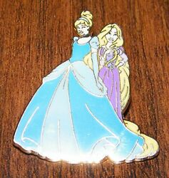 Fanasty Land Rapunzel And Cinderella Collectible Pin / Pinback / Lapel Only
