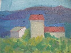 Nancy Winslow Parker Listed Illustrator Nyc 1933-2014france 17oil Painting