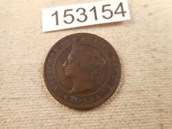 1900 Canada Large Cent Very Nice Collector Grade Raw Album Coin - 153154