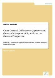 Cross-cultural Differences - Japanese And German Management Styles From The G...
