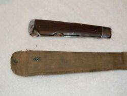 Miller Brothers Carter Skinning Knife with Sheath