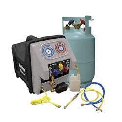 Mastercool 69360 Twin Turbo Complete Refrigerant Recovery System 110V