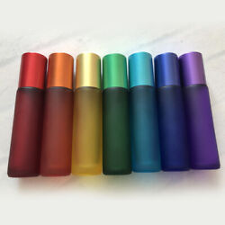 5ml 10ml Glass Roll On Bottles Roller Perfume Essential Oil Massage Aromatherapy