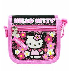 Sanrio Hello Kitty Mini Cross Shoulder Bag String Wallet Girls Purse $12.95