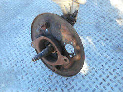 Mercedes Benz W187 W183 Adenauer Left Axle Stub King Pin Spindle Brake Plate