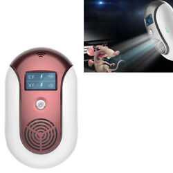 SMART PEST REPELLER ULTRASONIC WAVE ELECTRONIC REPELLER RATS BATS MOSQUITO