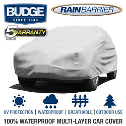 Budge Rain Barrier Suv Cover Fits Small Suvs Up To 13and0395 Long   Waterproof