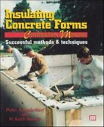 Insulating Concrete Forms Construction Manual By Peter Vanderwerf, W. Munsell