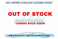 3row Aluminum Radiator + 16 Fan For 1917-1923 Ford Model T Bucket Ford Engine