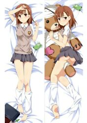 Anime Toaru Majutsu No Index Dakimakura Misaka Mikoto Hugging Body Pillow Covers