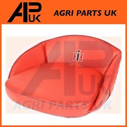 Seat Pan Cushion Red Ih Logo For Old Case International Harvester Tractor