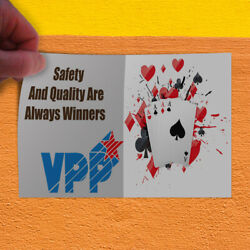 Decal Sticker Vpp Safety And Quality Are Always Winners Safety Store Sign Red